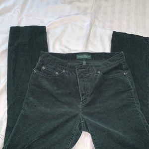 LRL Ralph Lauren Corduroy Classic Straight Pants